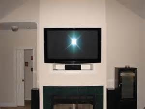 Cost To Mount Tv Fireplace by How To Eliminate The Quot Tv Niche Quot Above The Fireplace Home