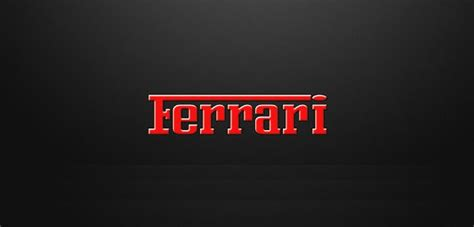 Ferrari Logo Font by 22 Free Fonts Used In Most Popular Company Logos