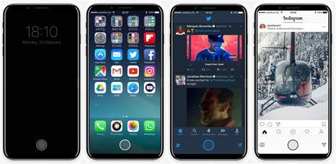 And Iphone iphone 8 concept imagines rumored quot function area