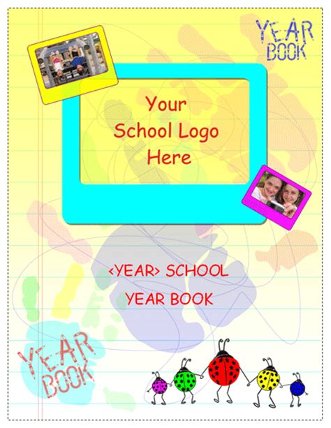 agendas templates student yearbook for elementary school