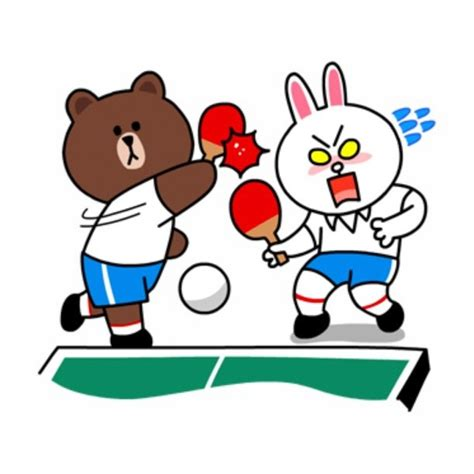 Brown Cony Line brown cony pingpong character anime brown and ps