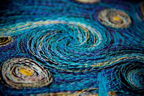 starry night machinequilter the starry night