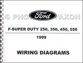 1999 ford f super duty 250 350 450 550 wiring diagram