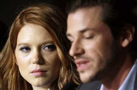 lea seydoux gaspard ulliel bonello s unauthorized movie saint laurent tells dark