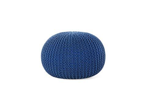 ottomane hocker hocker ottomane sitzhocker blau wohnzimmerhocker