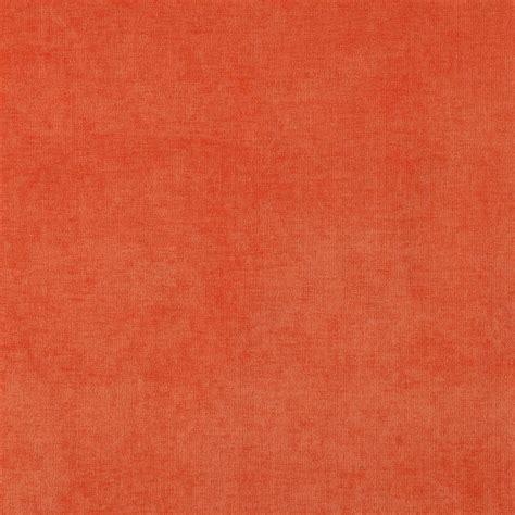orange velvet sofa fabric orange solid woven velvet upholstery fabric by the yard