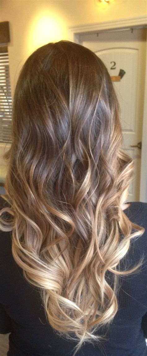 pictures of brown to blonde ombres gorgeous sombre hair color idea