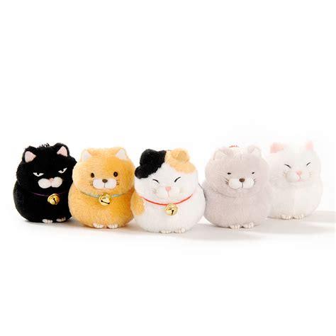 Hige Manjyu Diecut Cat Blankets hige manjyu cat plush collection chain tokyo