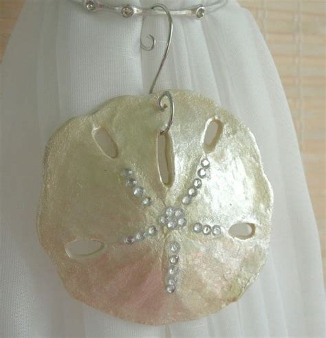 beachy sand dollar christmas ornamentwedding holiday