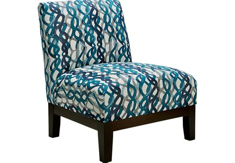 Basque Turquoise Accent Chair Accent Chairs Blue Turquoise Living Room Chair