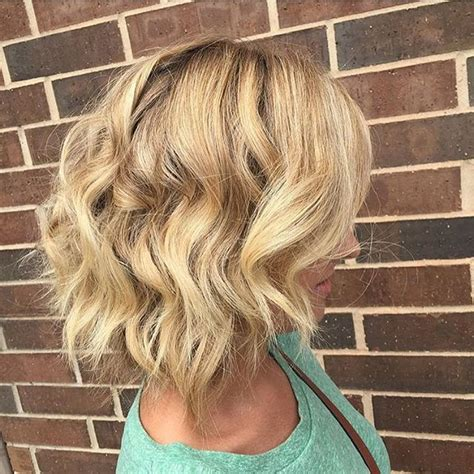 beach wave haircuts with bangs photos 22 tousled bob hairstyles popular haircuts