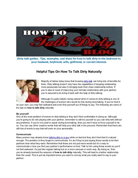 how to talk dirty in the bedroom how to talk dirty in the bedroom 3 free information from a