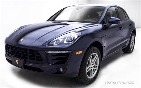 porsche 2017 4 door 2017 porsche macan suv 4 door for sale 23 used cars from