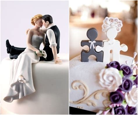 Unique Wedding Cake Toppers by A Beautiful Collection Of Unique Wedding Cake Toppers
