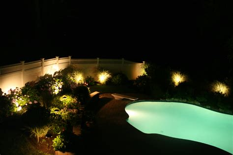 Pool Landscape Lighting Outdoor Lighting Around Pool Inspirations And Expert Images Hamipara