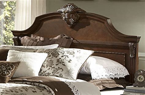 legacy traditional cherry panel bed beds he 866nc 1 4