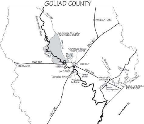 goliad texas map goliad state park historic site goliad area historic texas parks wildlife department