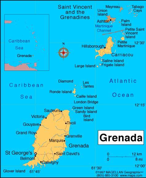 where is grenada on a map atlas grenada