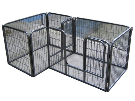puppy pen heavy duty pet playpen for puppy rabbit cage run pen portable folding pen ebay