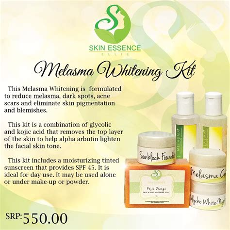 Melasma Whitening by Melasma Whitening Sets Skin Essence By Ellie