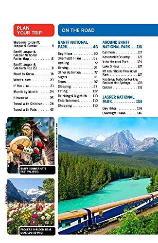 lonely planet banff jasper 1742206182 lonely planet banff jasper and glacier national parks travel guide toys games outdoor play