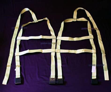 demco car basket straps adjustable tow dolly wheel net tire flat hooks ebay