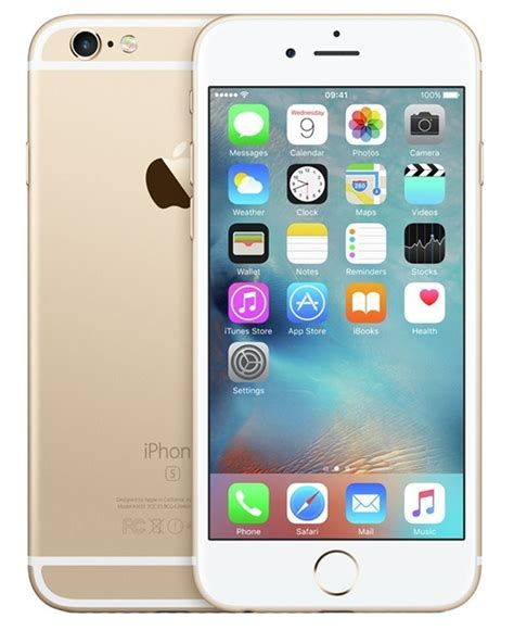 refurbished apple iphone 6s plus 64gb unlocked gold