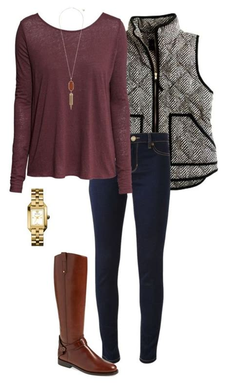 casual polyvore outfits  wear  winter