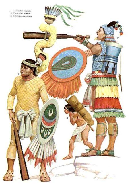 imagenes de aztecas animadas ejercito tlaxcalteca axanel el consejero
