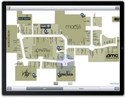 leading iphone mall map app point    apps