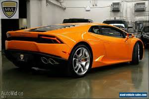 Lamborghini For Sales 2015 Lamborghini Huracan For Sale In Canada