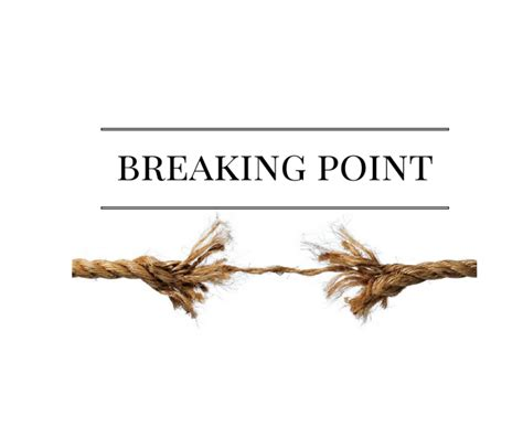Breaking Point | breaking point becbraid