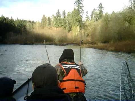 drift boat nisqually river 2010 nisqually river chum 1 youtube