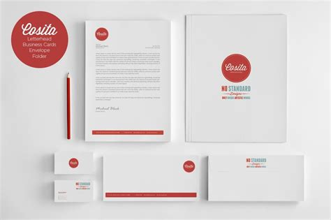business card and stationery template 80 modern stationery templates design shack