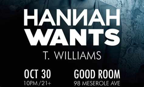 Good Giveaways For Events - nyc giveaway hannah wants t williams good room 10 30 2015