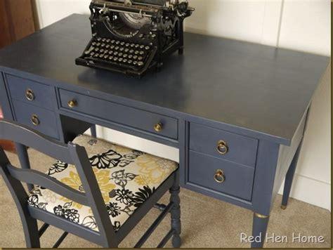 navy blue desk diy furniture