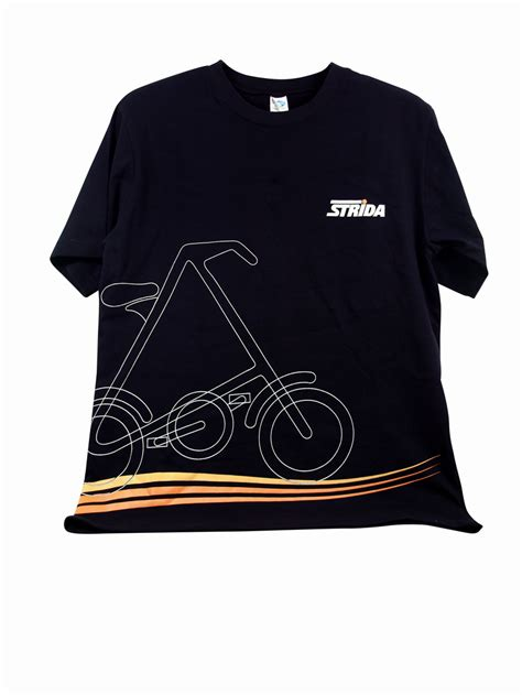 Tshirt Top Folding Bike strida t shirt medium strida canada west