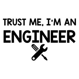 Kaos Trust Me I Am Enginer create code daily sticker just stickers just stickers