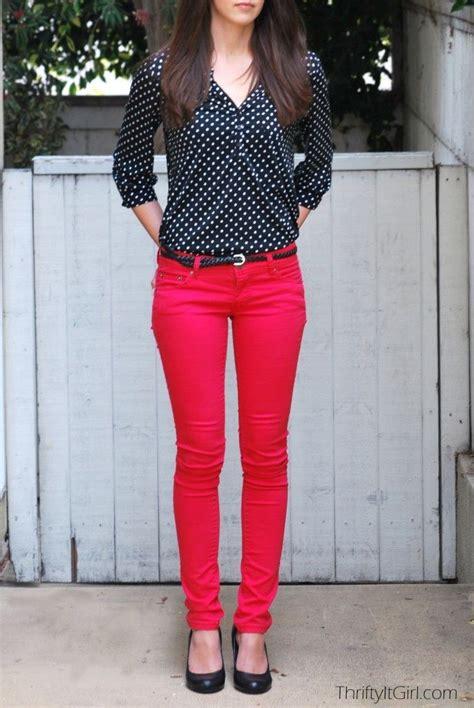 Next 7j Casual Minnie Pink Set Pant black polka dot shirt polka dot shirt and black