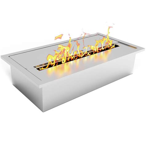 Bioethanol Fireplace Burner by Elite 1 5l Bio Ethanol Fireplace Burner Insert