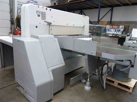 Polar Cutter by Guillotines Used Finishing Machines Polar Paper Cutter 115 Ed