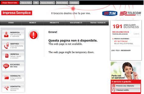 telecom ufficio guasti www nicolabattista it 169 174 187 191 impresa semplice di