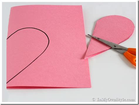 How Do You Make Paper Hearts - paper filled hearts in my own style