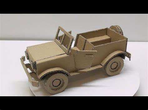 How To Make A Model Car Out Of Paper - how to make a car from cardboard