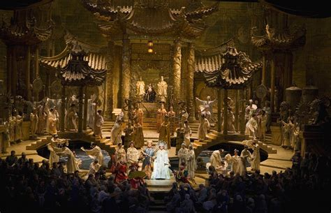 Tosca Set Aida 4in1 bart boehlert s beautiful things opera outing turandot at the met