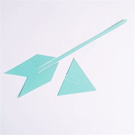How To Make A Paper Arrow - how to make an arrow out of paper 28 images popsicle