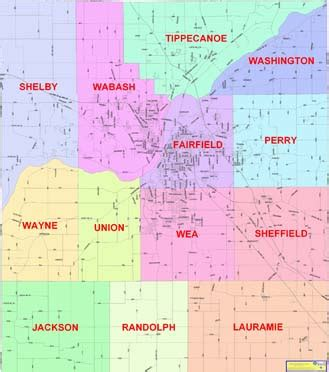 Tippecanoe County Property Records Township Information Tippecanoe County In