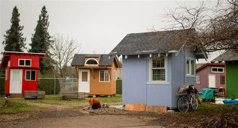 Small Home Communities In Are Tiny House Villages The Solution To Homelessness