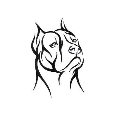tribal pitbull tattoo designs tribal pitbull design amazing tats