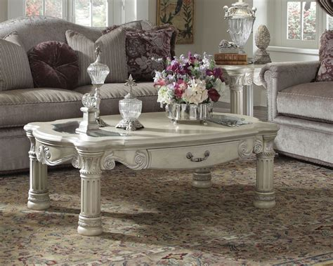 aico coffee table set monte carlo ii ai n53201s